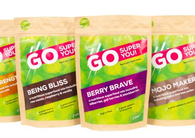 Go Super You – Product Shoot