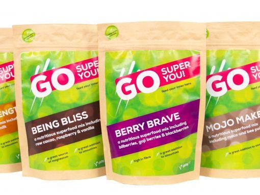 Go Super You – Product Shoot