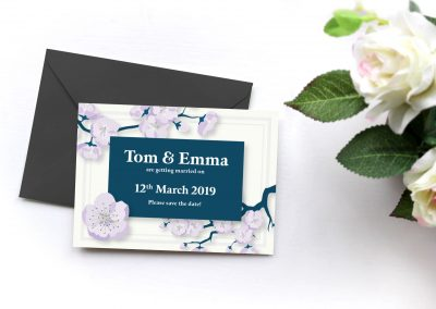Tom and Emma – Wedding Invites