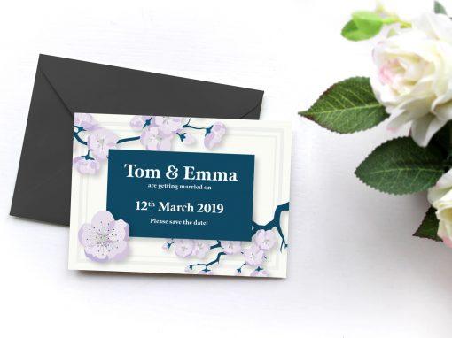 Tom and Emma – Wedding Invites