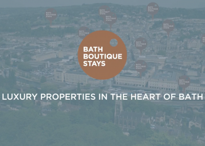Bath Boutique Stays – Landing Page Film