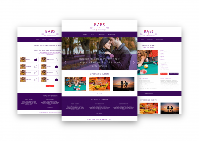 BABS – Brand, Website, Emails and Flyers